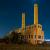 The long-abandoned Galveston Incinerator